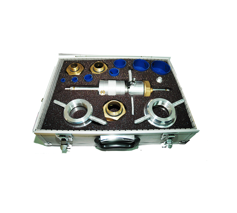 Frontal taladradora manual toma en carga - Accysa