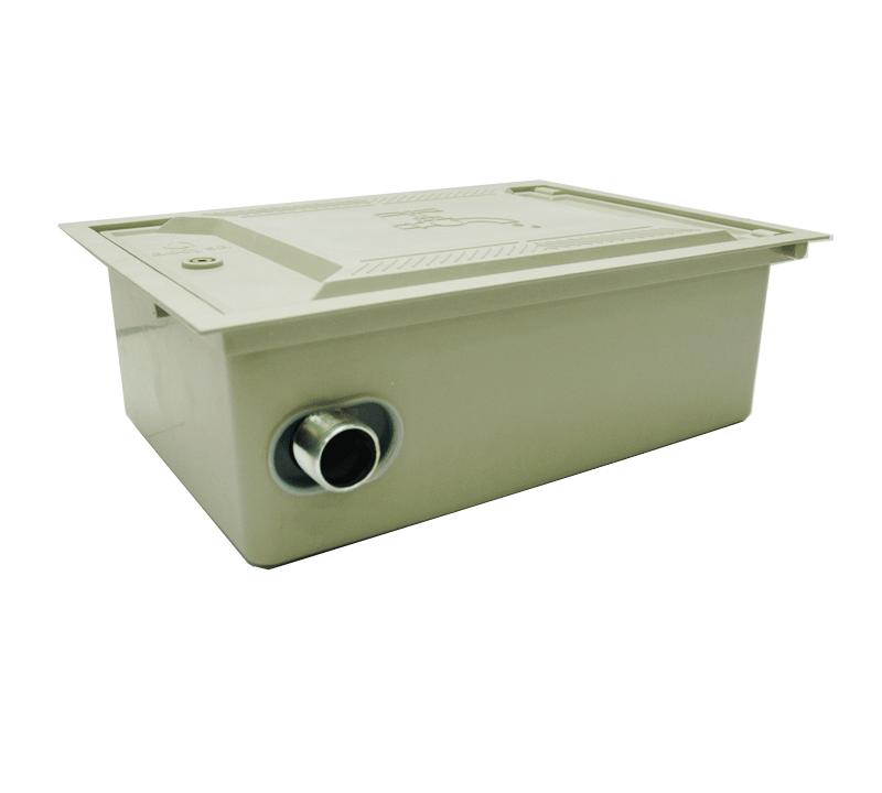 Cofre poliester 30x45 cerrado con montaje doble - Accysa