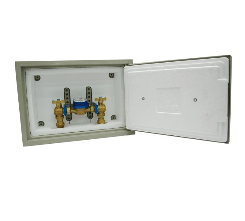 Cofre De Poliéster Con Montaje 30×45  Cofre Montaje ACM