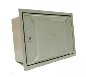Cofre poliester fibra de vidrio 30x45 perfil - Accysa