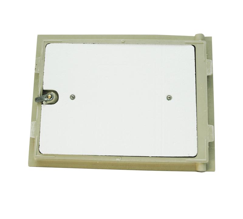 Detalle Puerta poliester fibra de vidrio - Accysa