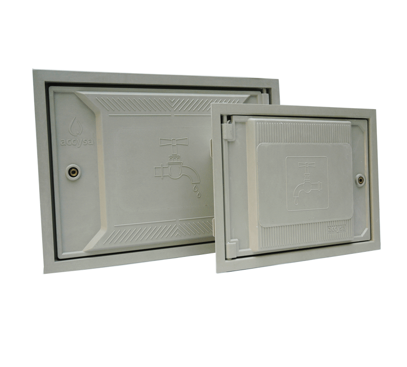 Puerta de poliéster de fibra de vidrio - Accysa
