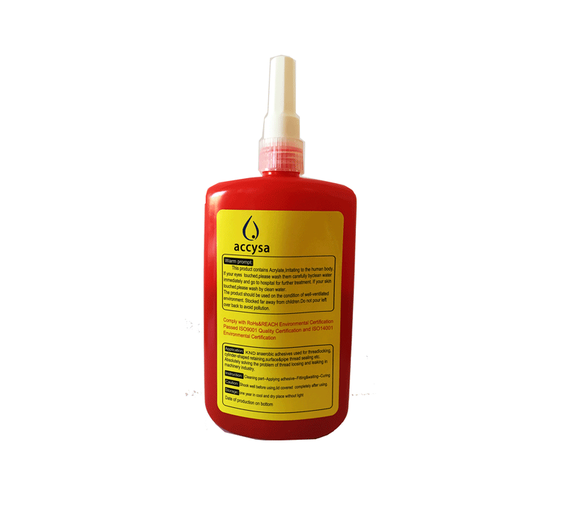 Sellador de roscas líquido trasera - Accysa