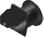 Válvula De Clapeta 15º  Conexión A Brida DIN PN10