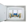 Cofre poliester 25x35 abierto con montaje - Accysa