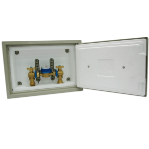 Cofre poliester 30x45 con montaje - Accysa