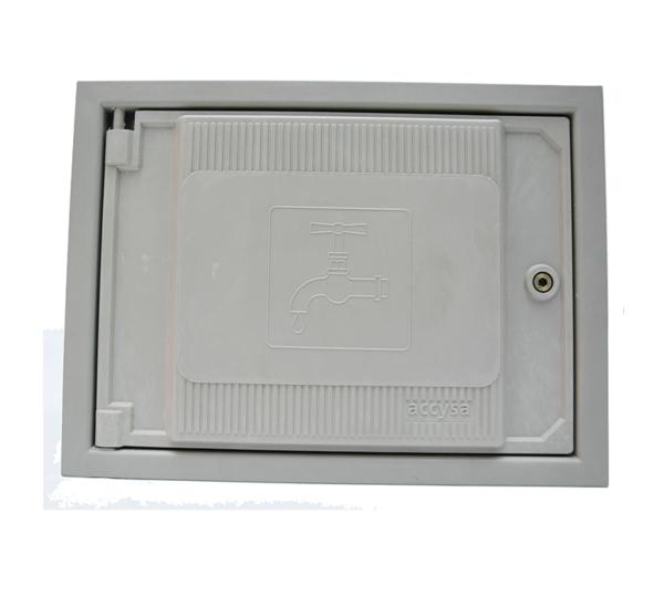 Cofre poliéster fibra de vidrio 25x35 - Accysa