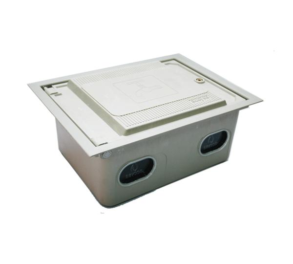Cofre poliéster fibra de vidrio 25x35 perfil - Accysa