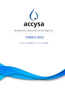 Portada Tarifa 2021 Accysa