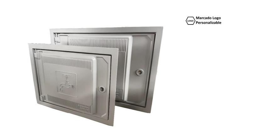 Puerta Registro Aluminio